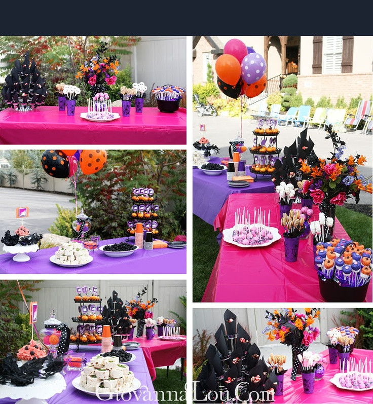 Halloween Party Ideas For Girls  17 Best ideas about Halloween Birthday Parties on