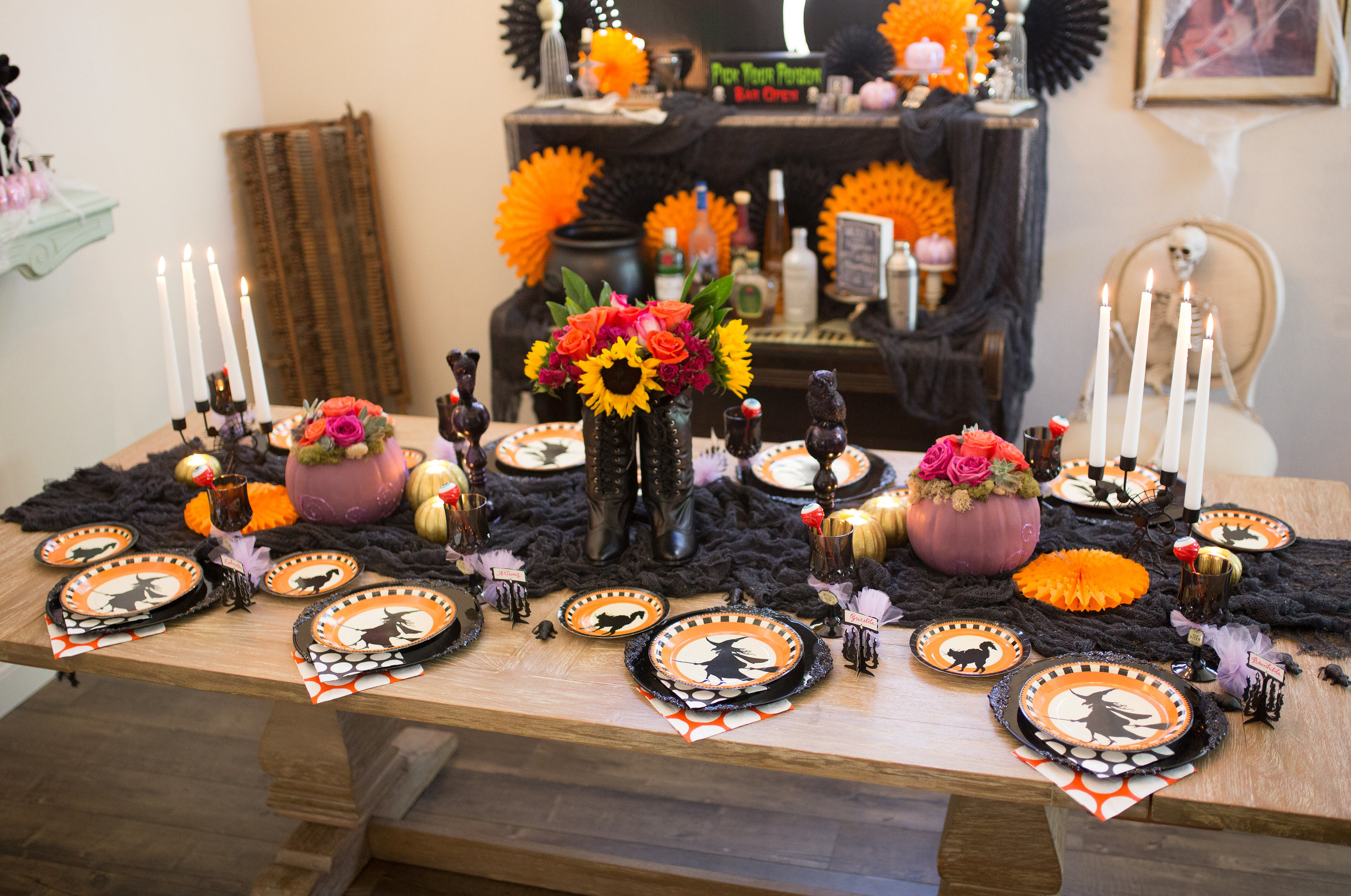 Halloween Party Ideas For Girls  Witch Themed Halloween Party