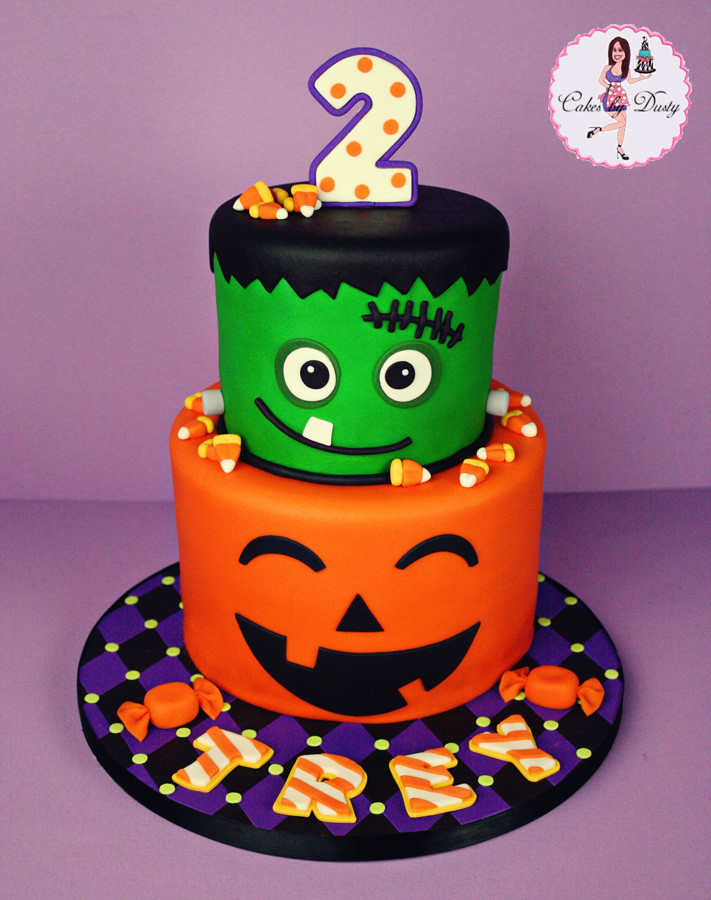 Halloween Party Ideas For Girls  Cakes by Dusty Trey s Halloween Birthday Cake