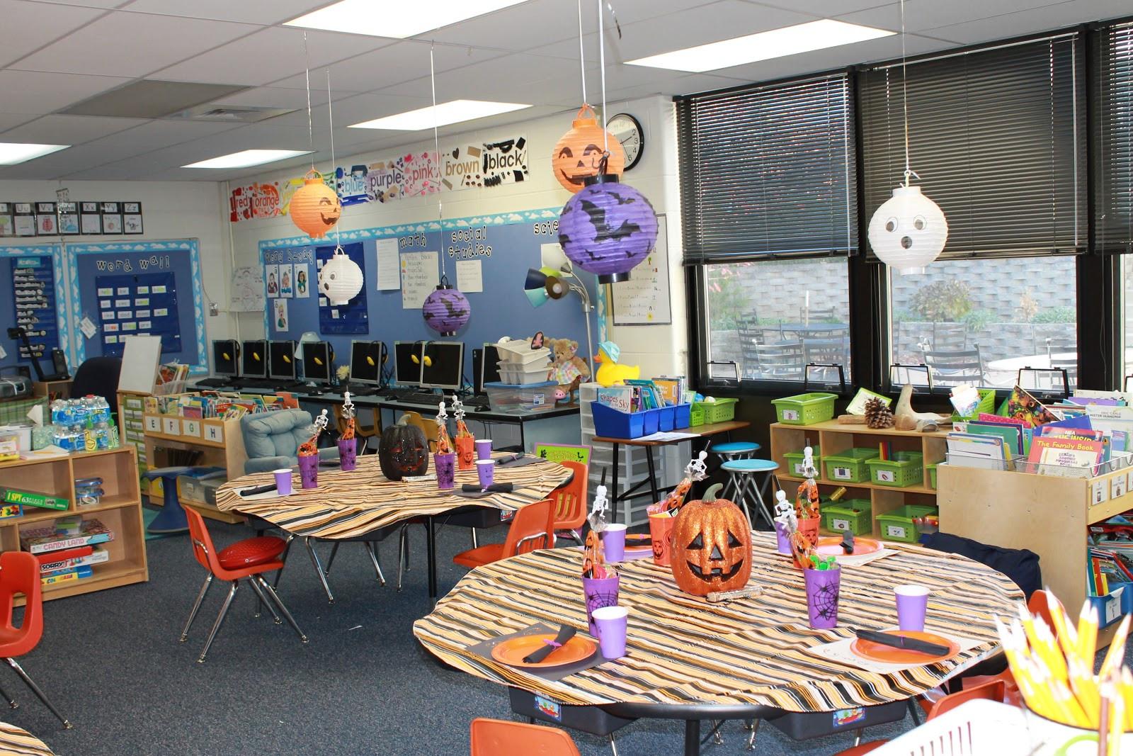 Halloween Party Ideas For School  Little Details School Halloween Party