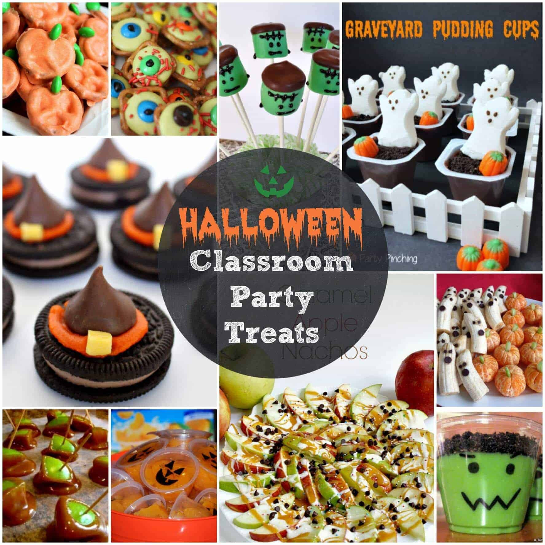 Halloween Party Ideas For School  Easy Halloween Treats for your Classroom Parties or just