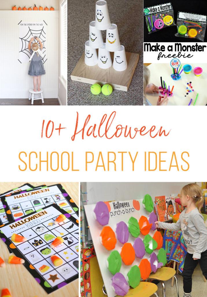 Halloween Party Ideas For School  10 Halloween School Party Ideas