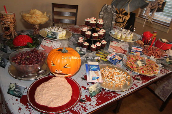 Halloween Party Menu Ideas For Adults  Halloween Party KIDS food & ADULT drink ideas Creative