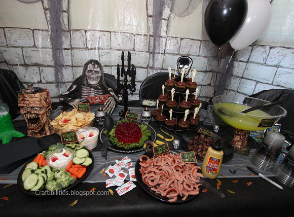 Halloween Party Menu Ideas For Adults  Halloween Party IDEAS frightful finger foods and