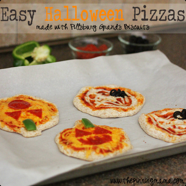 Halloween Pizza Party Ideas  9 Creepy Halloween Party Treats Spaceships and Laser Beams