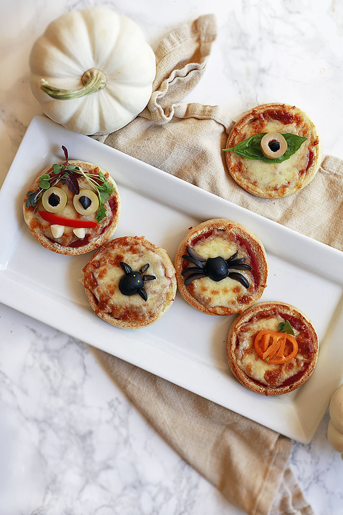 Halloween Pizza Party Ideas  Cute and Easy Halloween Pizza Ideas