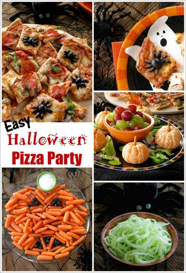 Halloween Pizza Party Ideas  Easy Halloween Pizza Party The Dinner Mom
