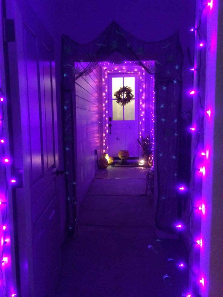 Halloween Porch Light  17 Best images about Purple outdoors pools on Pinterest