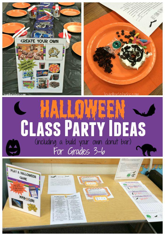 Halloween School Party Ideas  25 best ideas about Halloween Class Party on Pinterest