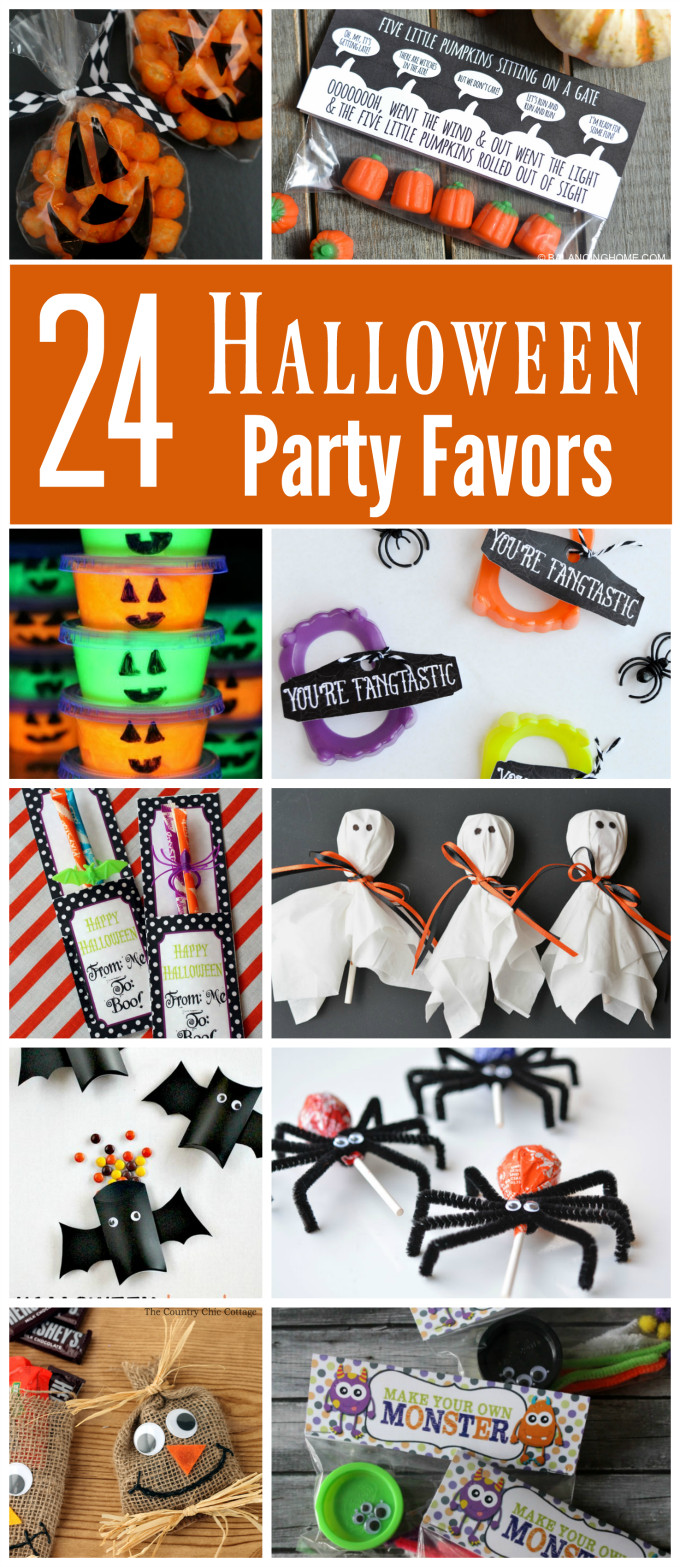 Halloween School Party Ideas  24 Creative Halloween Party Favors The Resourceful Mama