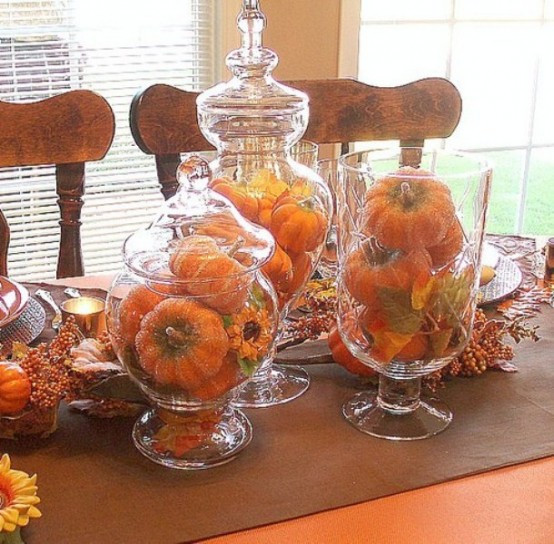 Halloween Table Centerpieces  65 Awesome Pumpkin Centerpieces For Fall And Halloween