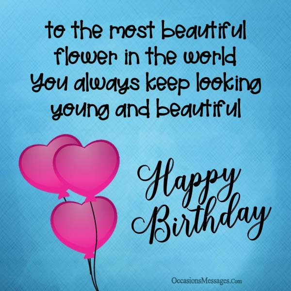 Happy Birthday To A Beautiful Woman Quotes  Happy Birthday Wishes for a Woman Occasions Messages
