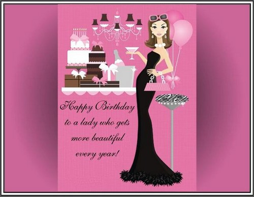 Happy Birthday To A Beautiful Woman Quotes  30 Happy Birthday Lady Quotes and Wishes