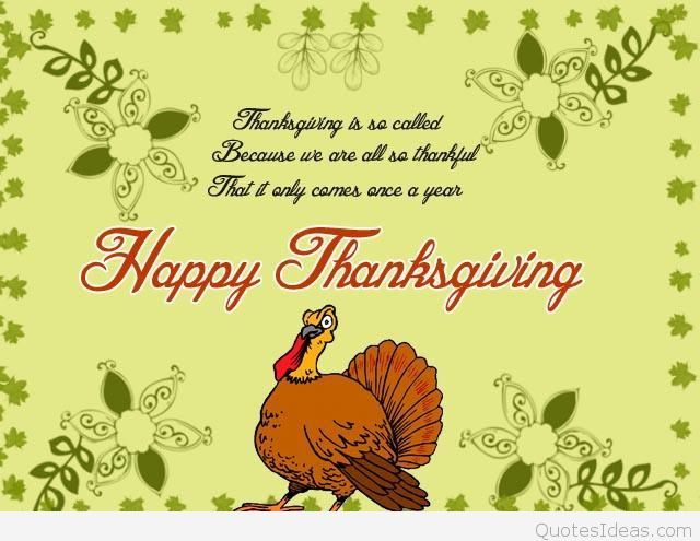 Happy Thanksgiving Blessings Quotes  Messages Happy Thanksgiving pics and cards