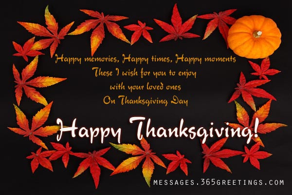 Happy Thanksgiving Pics And Quotes  Thanksgiving Messages Greetings Quotes and Wishes