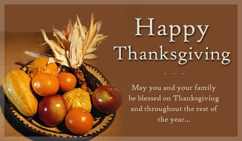 Happy Thanksgiving Pics And Quotes  Happy Thanksgiving Wishes for Family And Friends