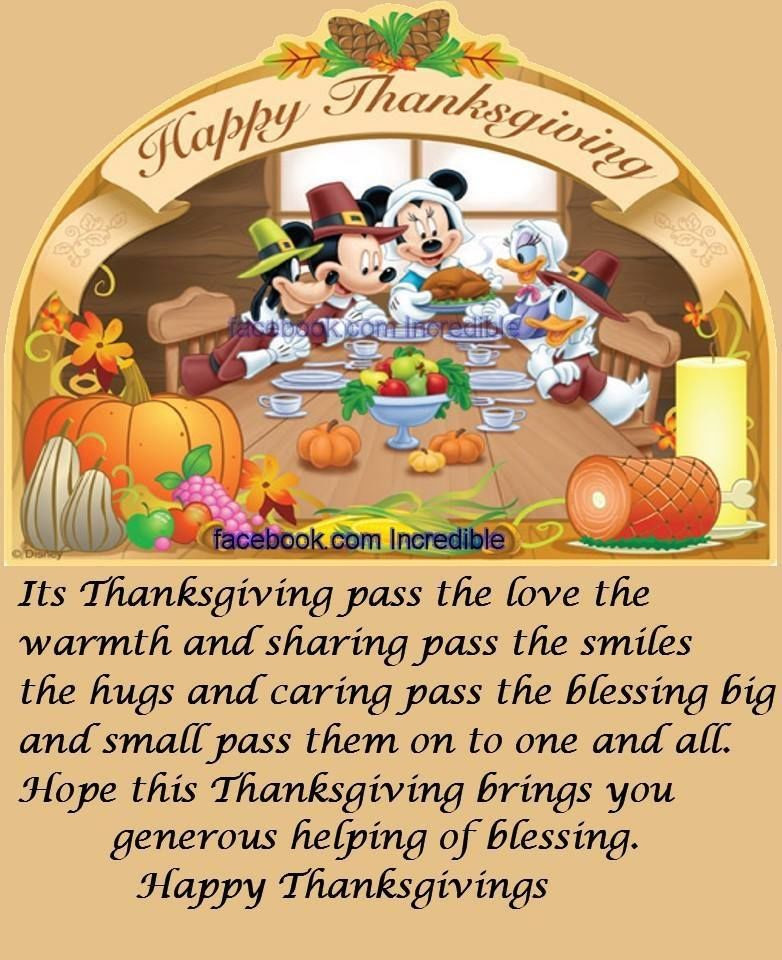Happy Thanksgiving Quotes For Friends  Happy Thanksgiving Quote For Friends And Family