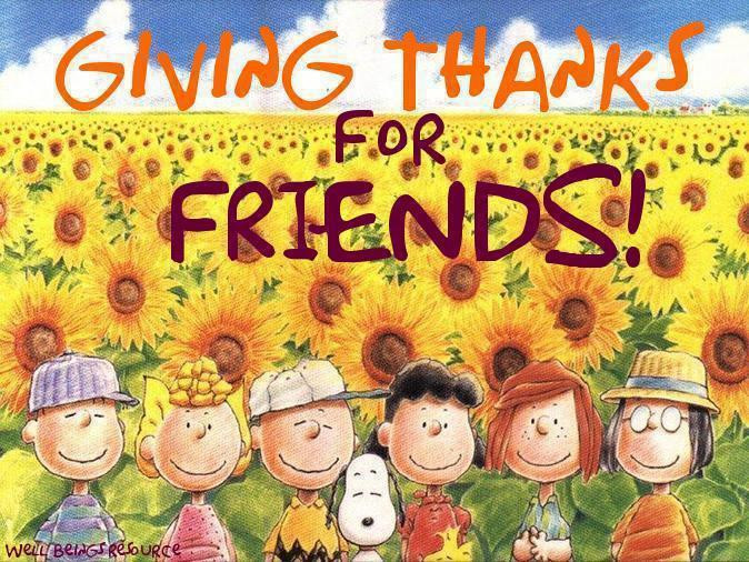 Happy Thanksgiving Quotes For Friends  Cat Nap Inn Happy ThaNksGiVinG Every e