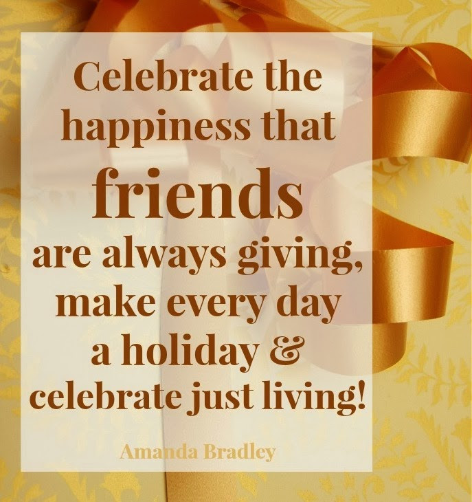 Happy Thanksgiving Quotes For Friends  Giving Thanks MYSTIC LIGHT