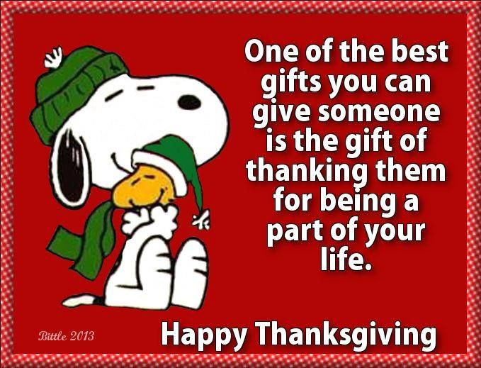 Happy Thanksgiving Quotes For Friends  e The Best Gifts You Can Give Someone Is The Gift