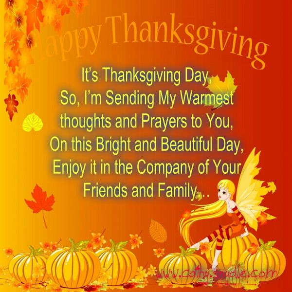 Happy Thanksgiving Quotes For Friends  Happy Thanksgiving Quotes Wishes and Thanksgiving
