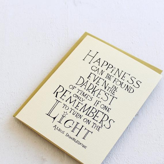 Harry Potter Graduation Quotes  Happiness can be found Harry Potter movie quote by