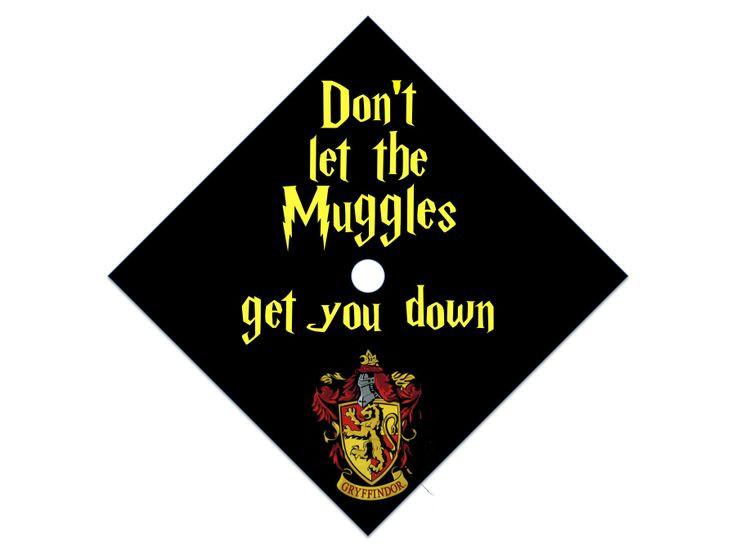 Harry Potter Quotes For Graduation  Harry Potter graduation cap D