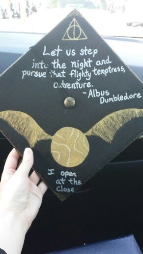 Harry Potter Quotes For Graduation  Harry Potter Graduation Cap DIY Projects