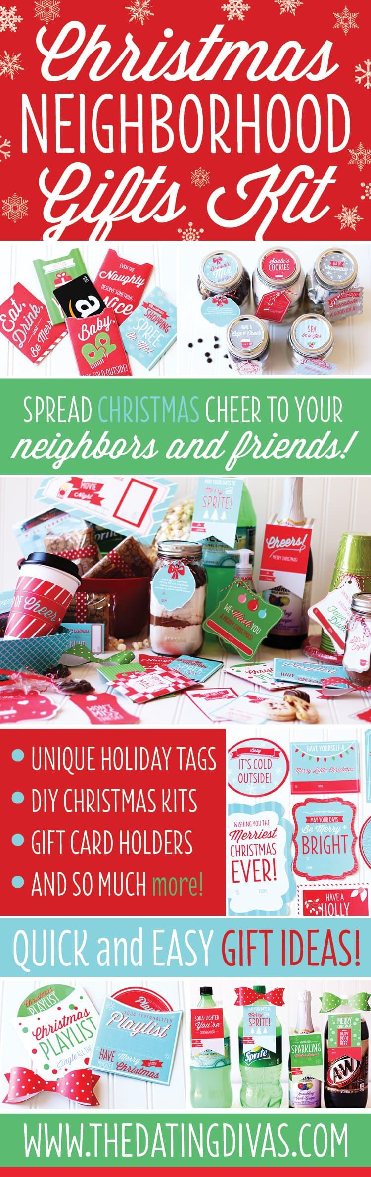 Holiday Gift Ideas For Neighbors  Christmas Neighbor Gift Ideas Pack