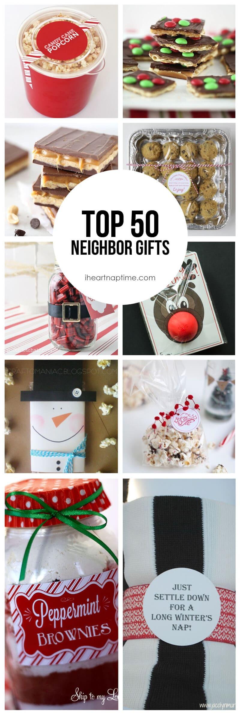 Holiday Gift Ideas For Neighbors  Top 50 Neighbor Gift Ideas I Heart Nap Time