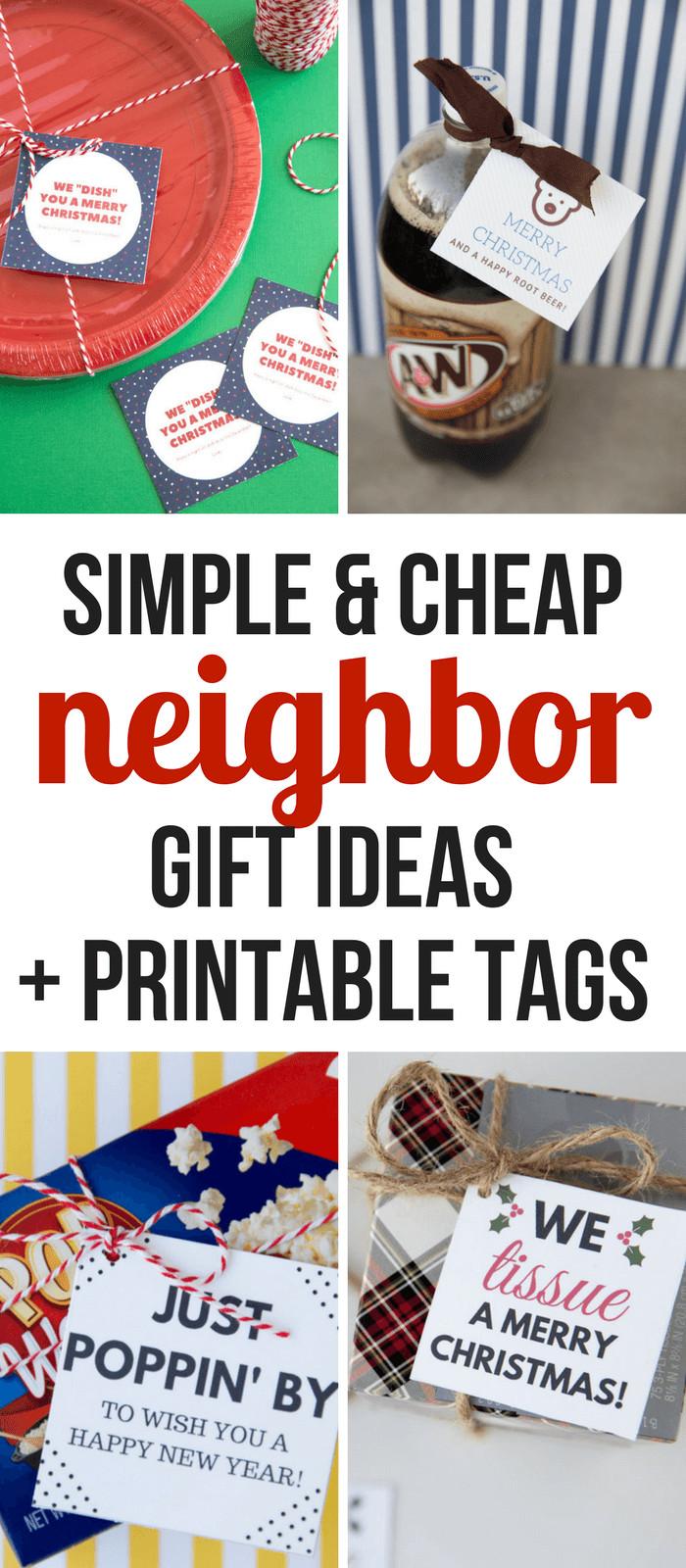 Holiday Gift Ideas For Neighbors  10 Inexpensive & Simple Christmas Neighbor Gift Ideas So