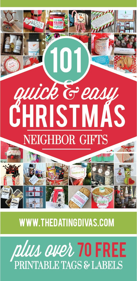 Holiday Gift Ideas For Neighbors  101 Quick and Easy Christmas Neighbor Gifts