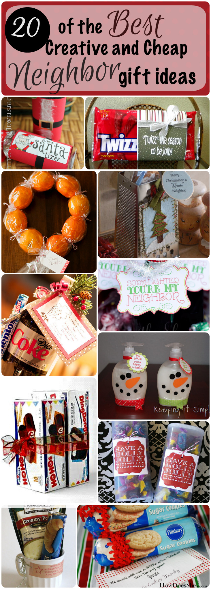 Holiday Gift Ideas For Neighbors  20 of the Best Creative and Cheap Neighbor Gifts for Christmas