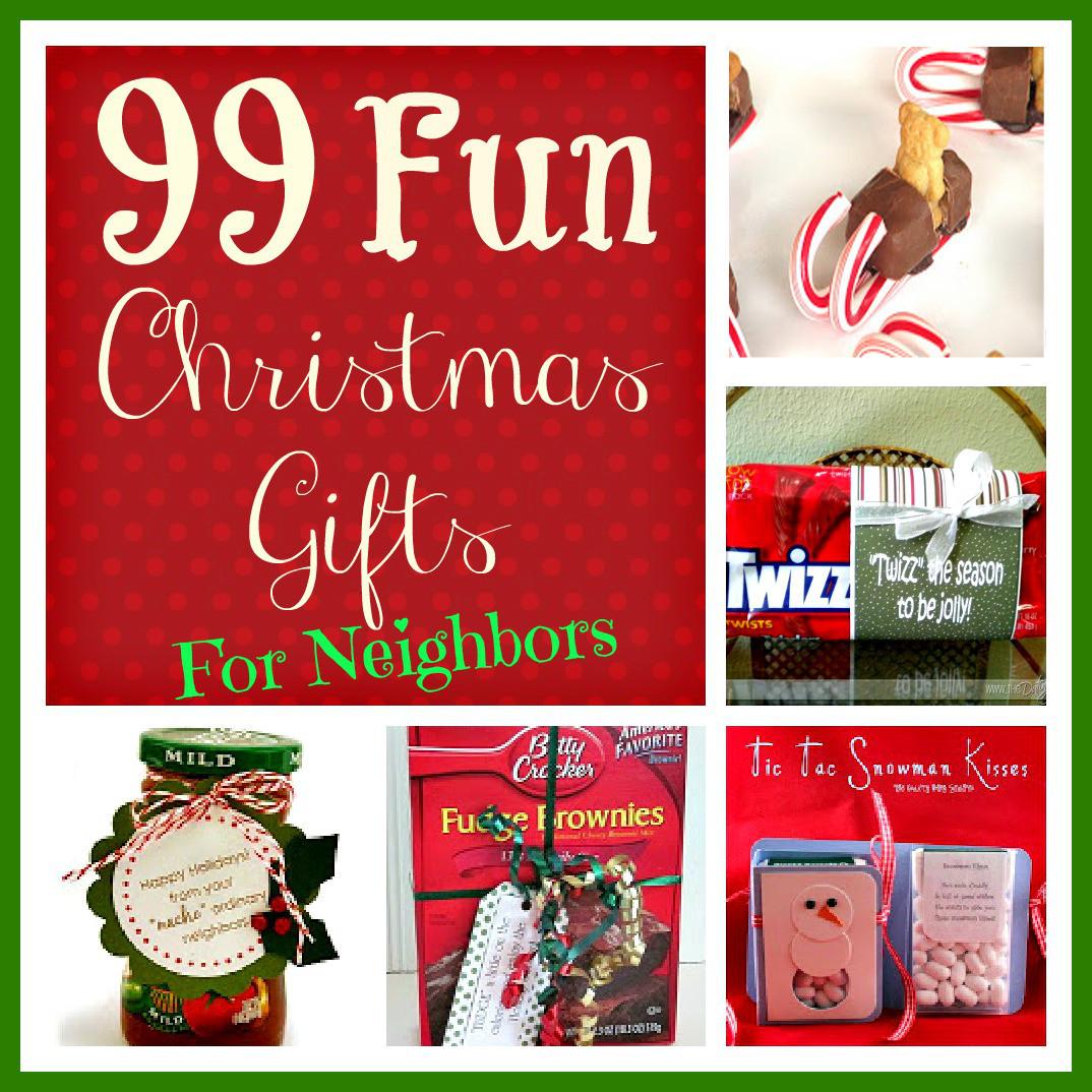 Holiday Gift Ideas For Neighbors  99 Fun Christmas Gifts for Neighbors