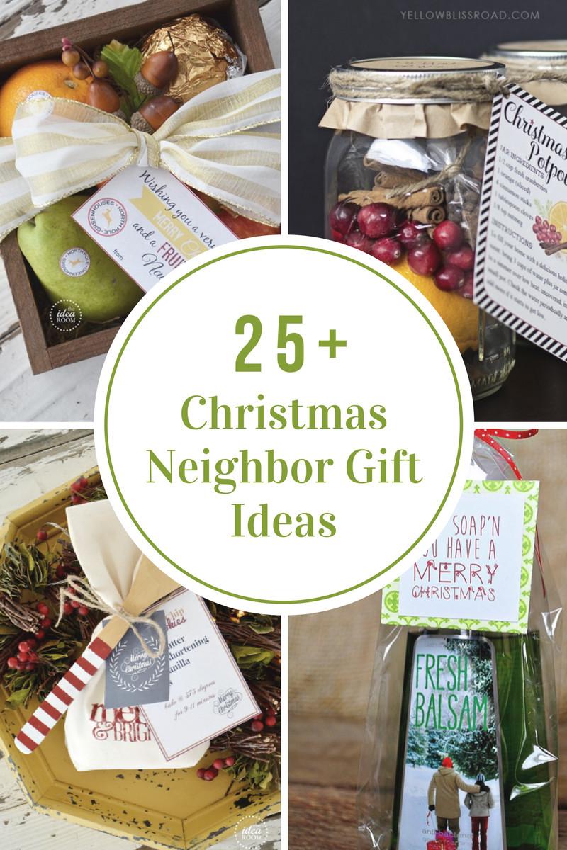 Holiday Gift Ideas For Neighbors  Christmas Neighbor Gift Ideas The Idea Room