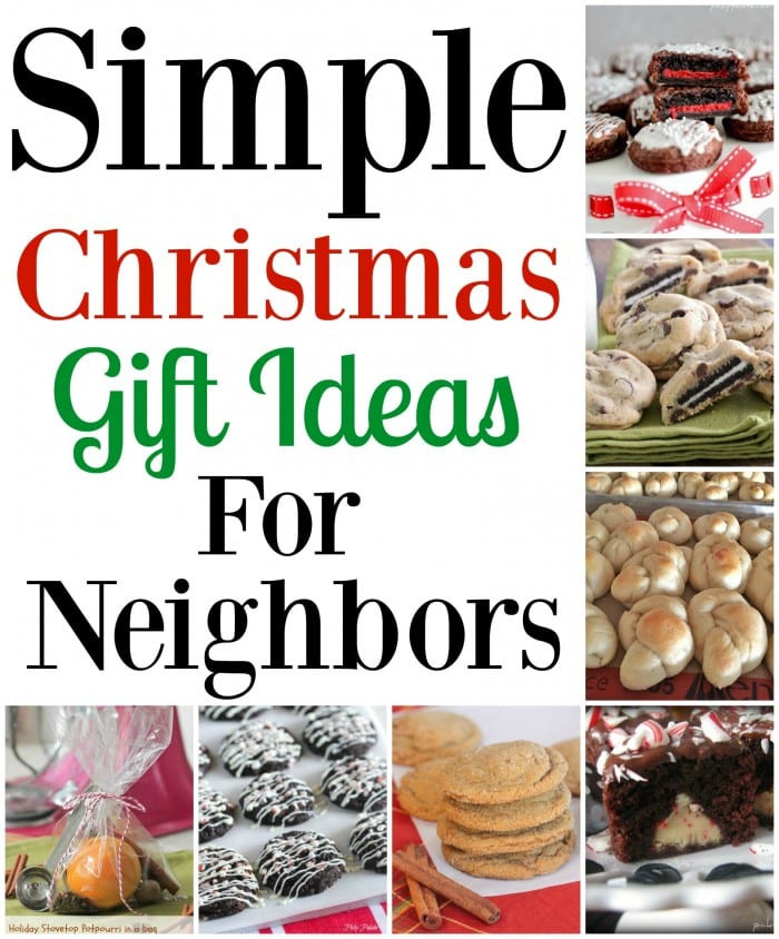 Holiday Gift Ideas For Neighbors  Simple Christmas Gift Ideas For Neighbors Picky Palate