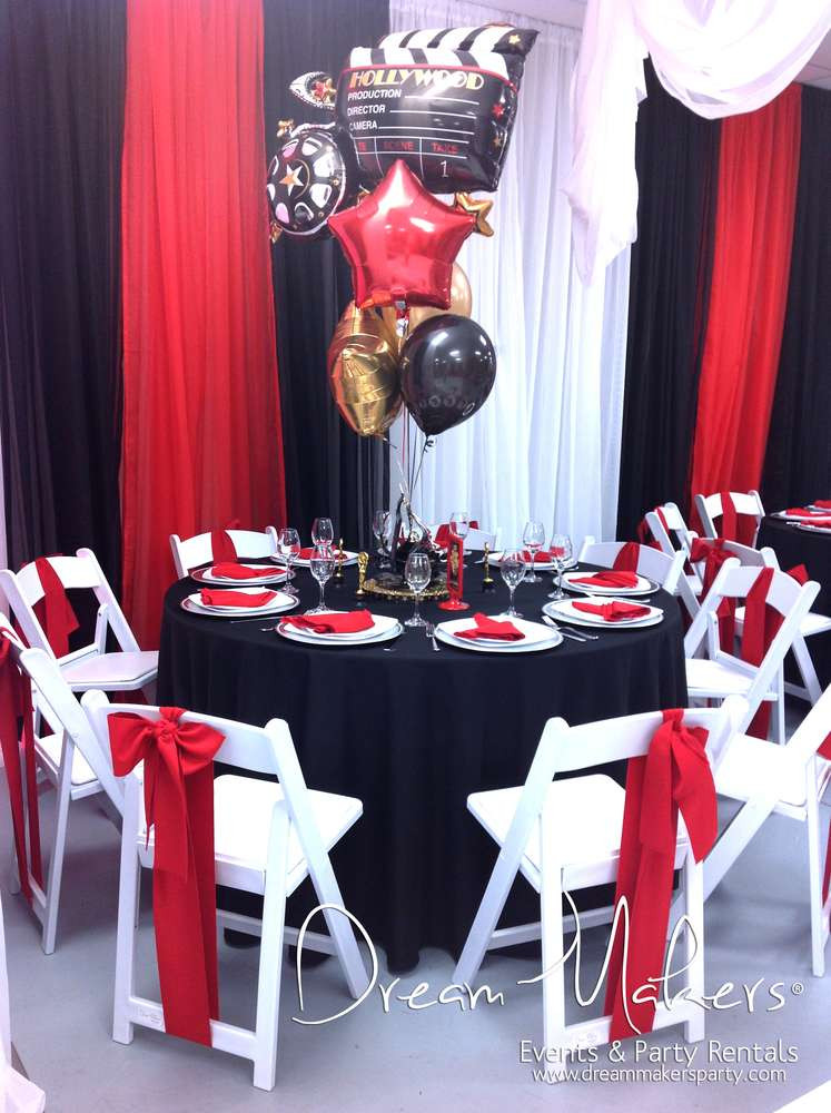Hollywood Birthday Party Ideas  Hollywood Birthday Party Ideas 9 of 12