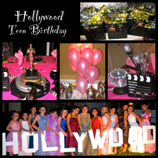 Hollywood Birthday Party Ideas  Restaurant Reservation Hollywood Theme Party Ideas