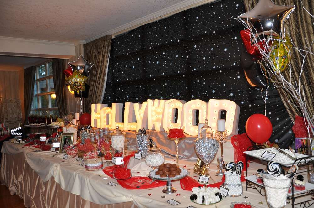 Hollywood Birthday Party Ideas  Hollywood Birthday Party Ideas 3 of 16