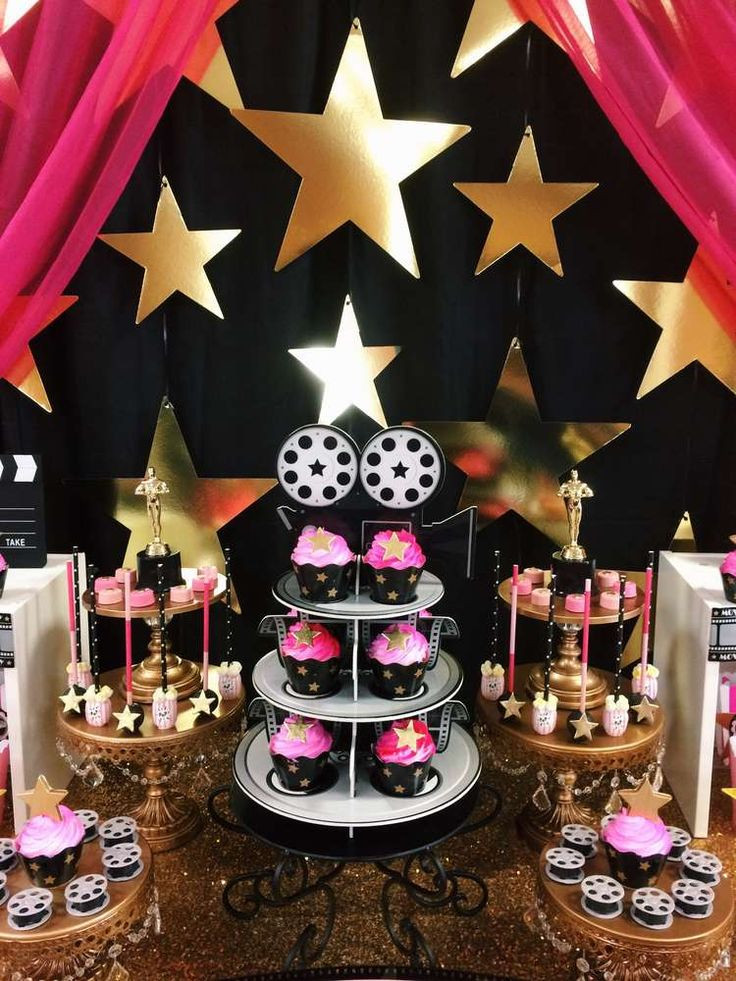 Hollywood Birthday Party Ideas  25 Best Ideas about Hollywood Birthday Parties on