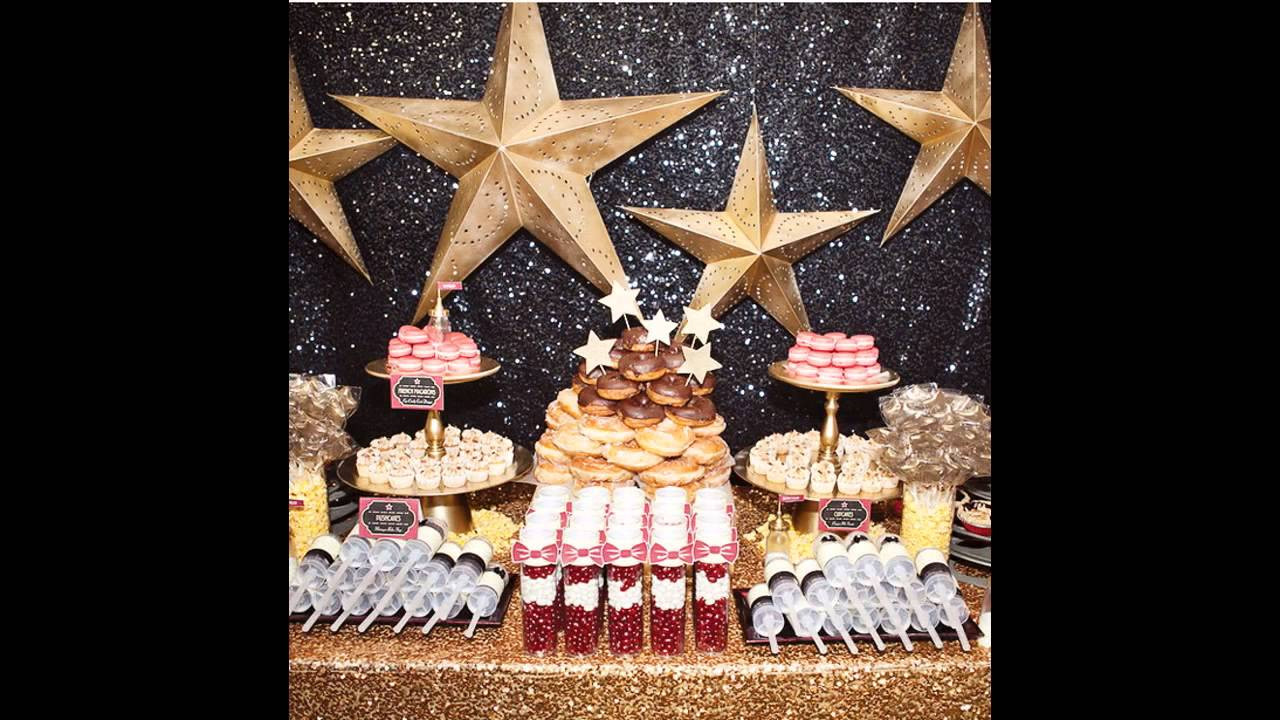 Hollywood Birthday Party Ideas  Awesome Hollywood theme party decorations ideas