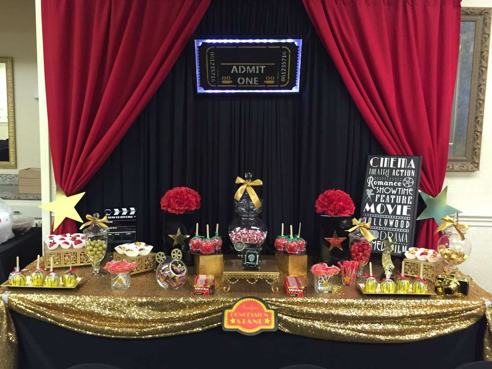 Hollywood Birthday Party Ideas  Hollywood Red Carpet Birthday Party Ideas