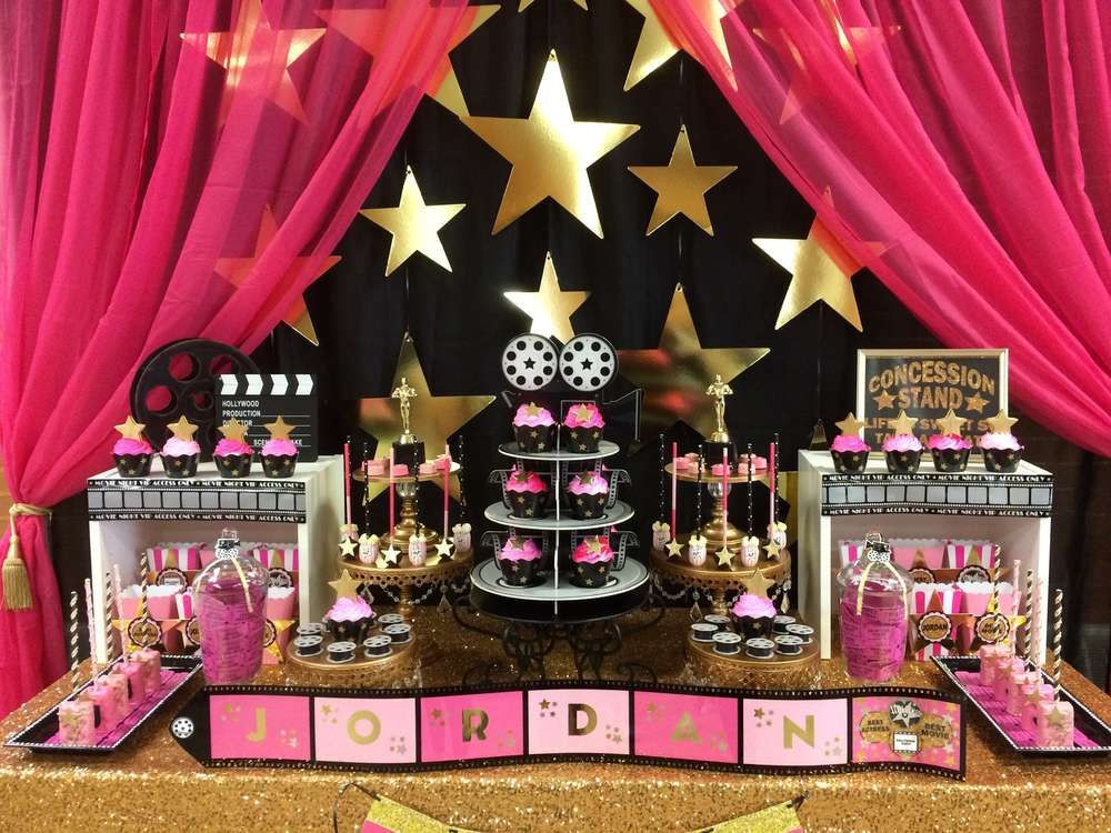 Hollywood Birthday Party Ideas  Hollywood Theme Birthday Party Ideas in 2019