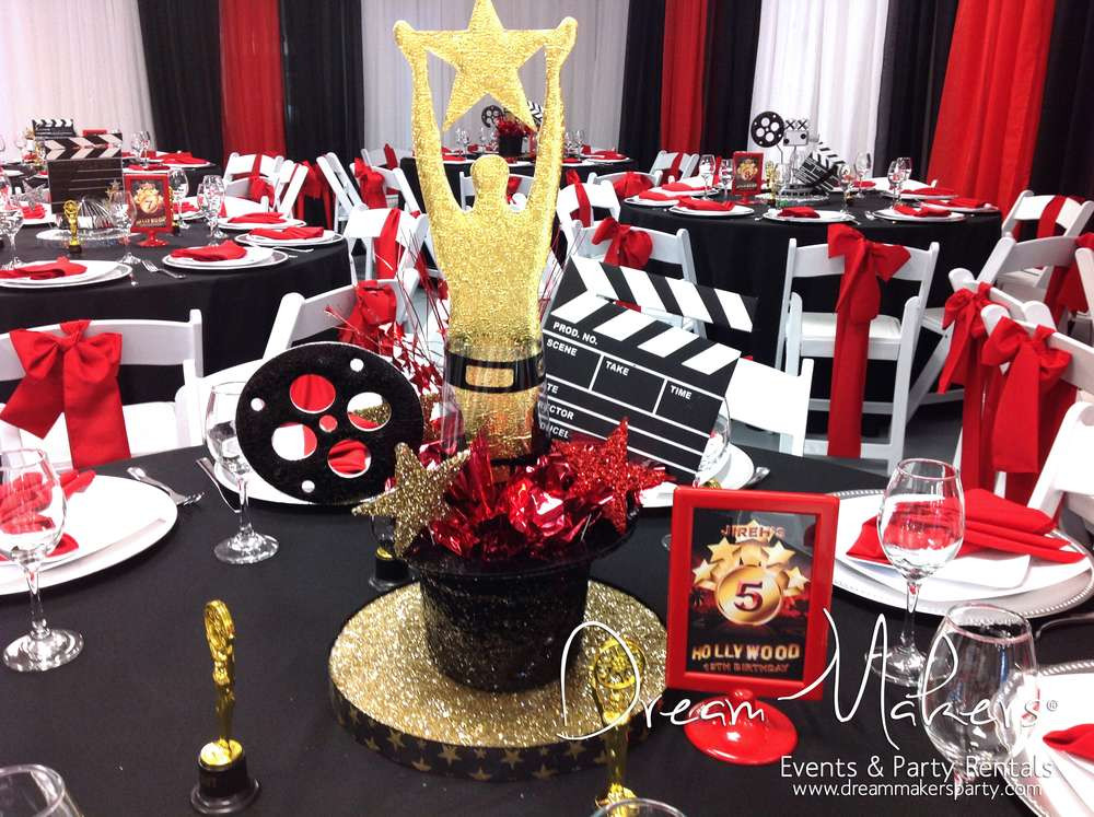 Hollywood Birthday Party Ideas  Hollywood Birthday Party Ideas 8 of 12
