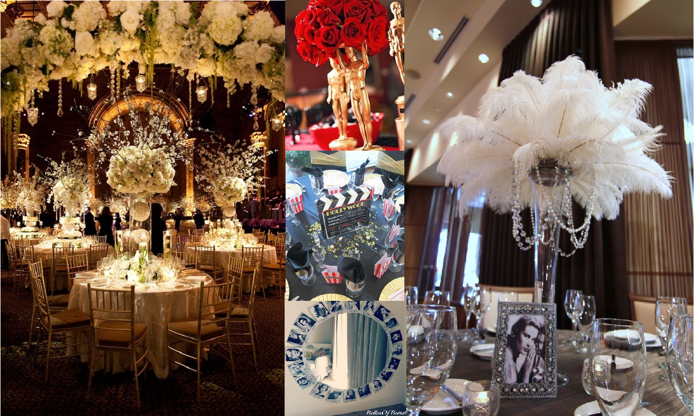 Hollywood Birthday Party Ideas  Step 3 Planning Your Decorations – Plan Your Perfect 21st