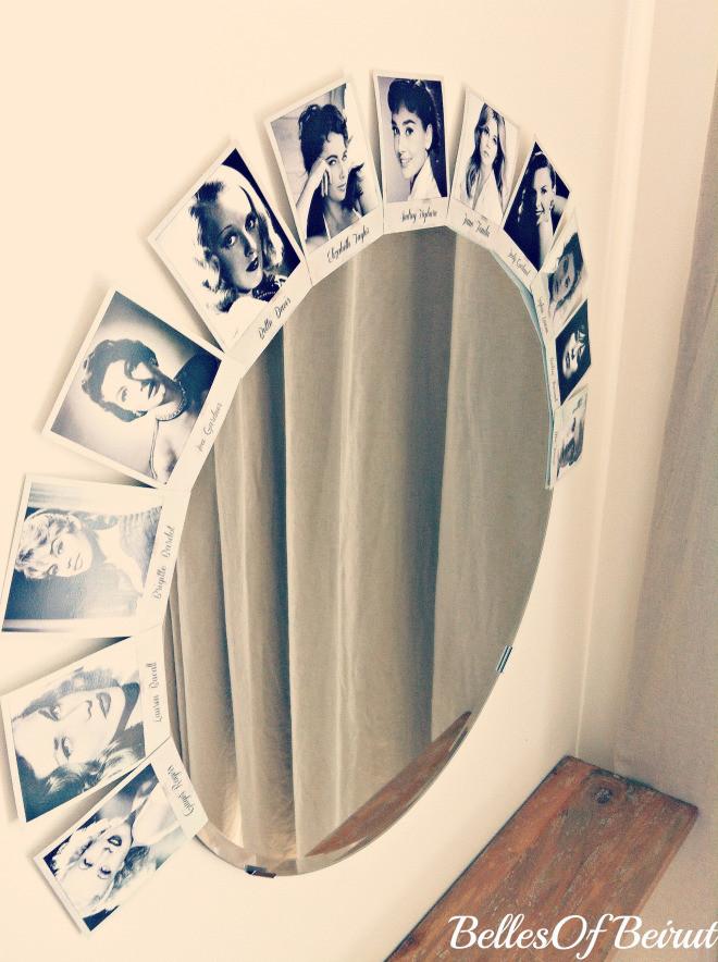 Hollywood Vanity Mirror DIY  DIY Old Hollywood Vanity Mirror – Belles Beirut