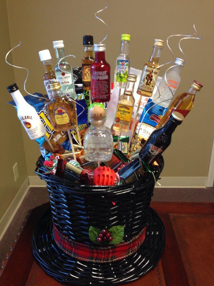 Home Made Christmas Gift Basket Ideas  Gift Basket Ideas For Men Pinterest Men s t basket