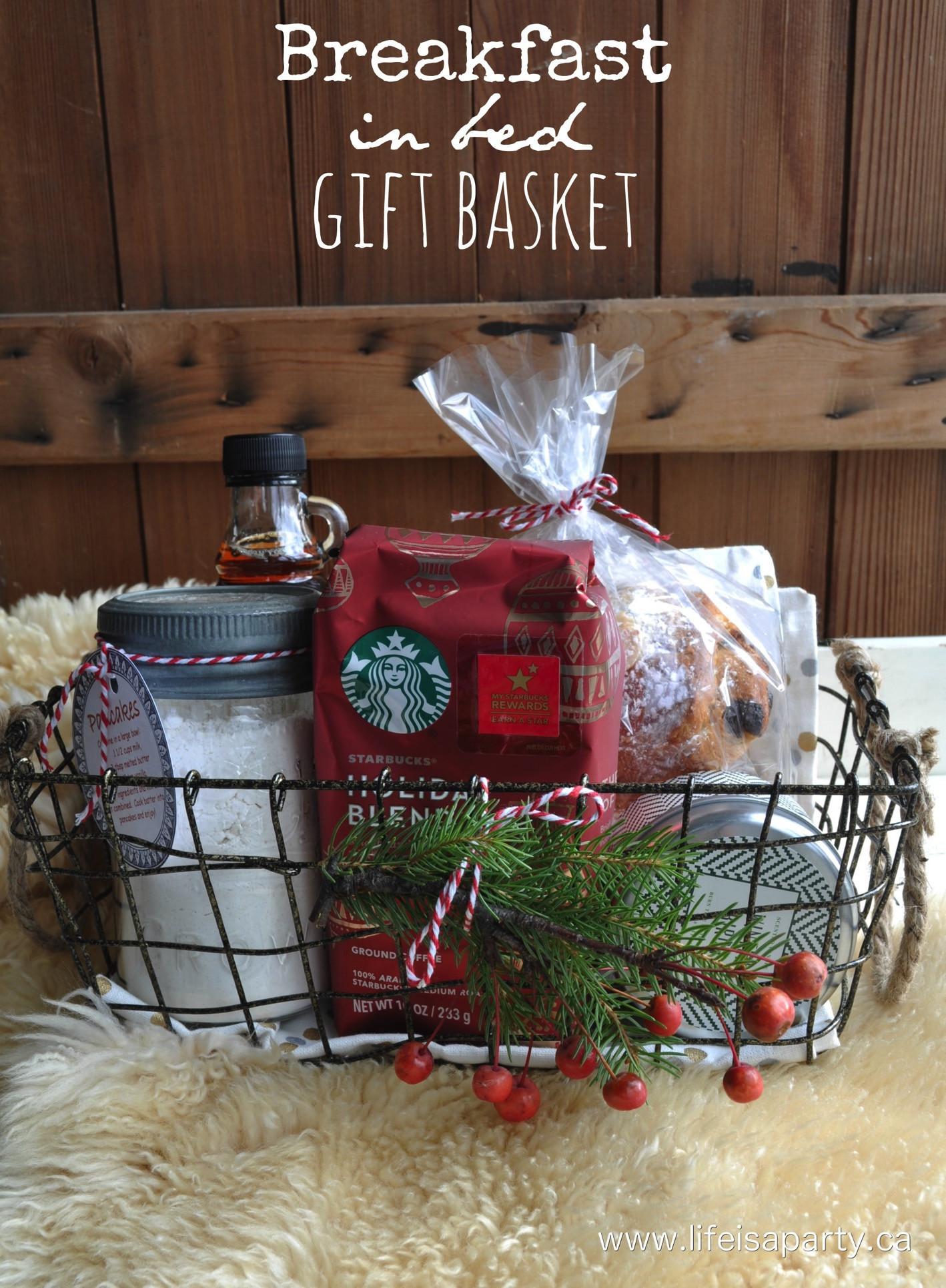 Home Made Christmas Gift Basket Ideas  DIY Gift Basket Ideas The Idea Room