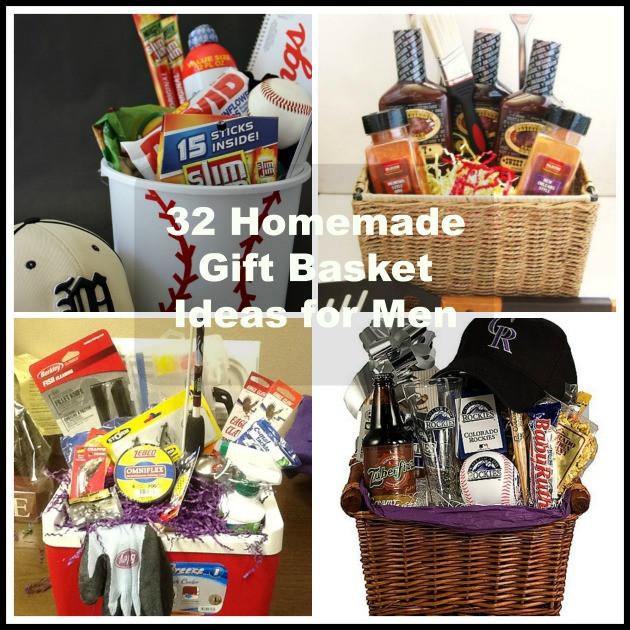 Home Made Christmas Gift Basket Ideas  32 Homemade Gift Basket Ideas for Men