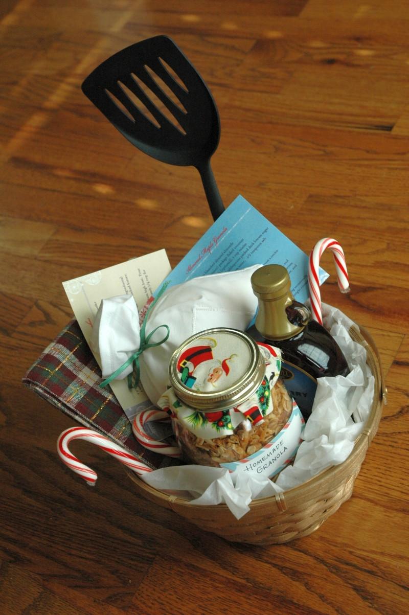 Home Made Christmas Gift Basket Ideas  Homemade Christmas Gift Basket